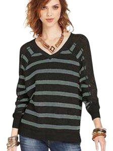 We The Free People Striped Dolman Pointelle Sweater
