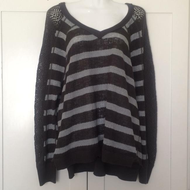 We The Free People Striped Dolman Pointelle Sweater Image 2