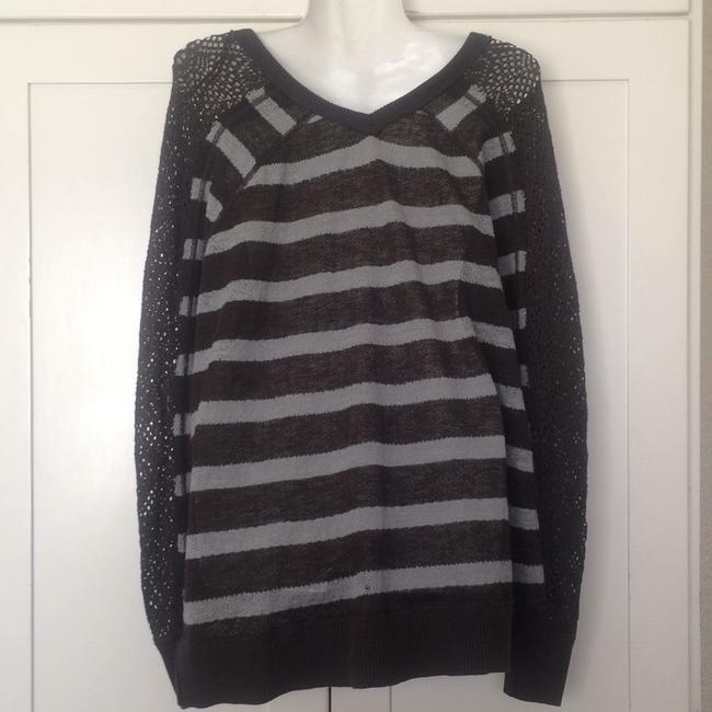 We The Free People Striped Dolman Pointelle Sweater Image 3