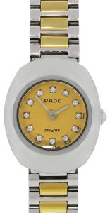 Rado Rado 963.0558.3 Diastar Two Tone Diamond Dial Ladies Watch