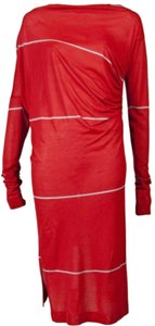 Vivienne Westwood short dress Red Striped Longsleeve Boat Neck on Tradesy