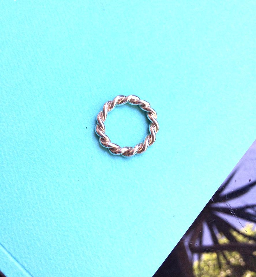 Tiffany Rope Ring Silver