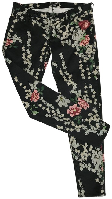 Preload https://img-static.tradesy.com/item/22639232/7-for-all-mankind-black-floral-straight-leg-jeans-size-32-8-m-0-1-650-650.jpg