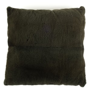 Frette Frette Forest Green Mink & Silk Pillow
