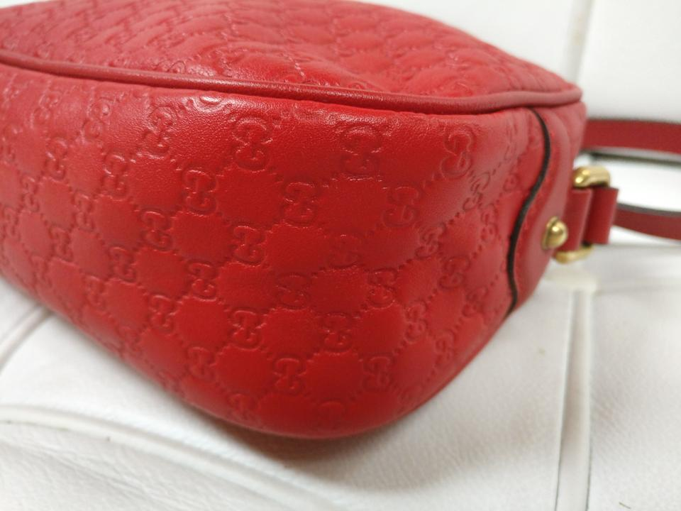 2a69e88f2c59 Gucci Gg Monogram Leather Bree Cross Body Bag Image 11. 123456789101112