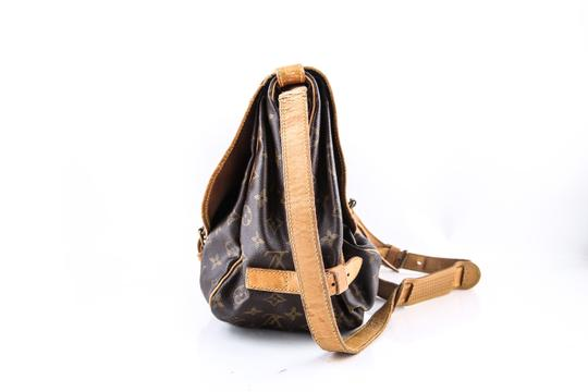 Louis Vuitton Brown Messenger Bag Image 1