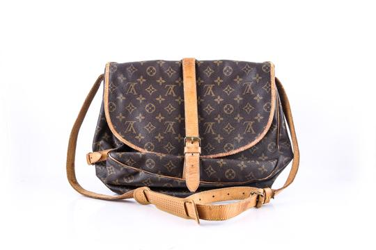 Louis Vuitton Brown Messenger Bag Image 3