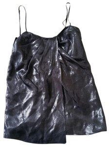 Laundry by Shelli Segal Laundrybydesign Top silver