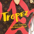 Louis Vuitton Saint Tropez Tahitienne Neverfull Leather Tote in Brown Image 8