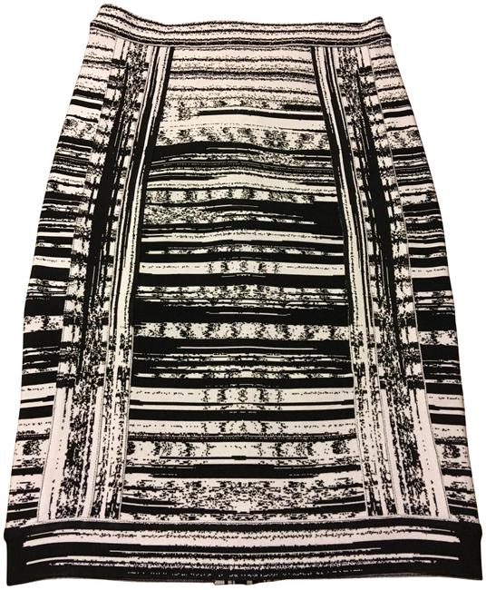 Item - Black Multi Naomie Pencil Skirt Size 4 (S, 27)