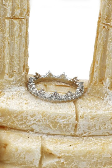 Ocean Fashion Delicate mini crystal ring Image 5