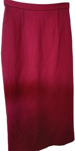 Roland Mouret Skirt Dark red