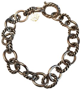 "David Yurman OVAL LINK BRACELET 10mm 8"" long"