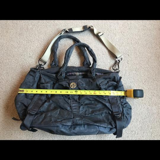 Lululemon Gray Destined For Greatness Weekend/Travel Bag