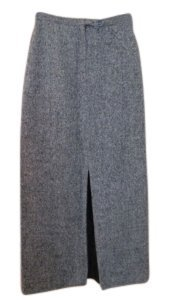 Calvin Klein Maxi Skirt Beige/Brown Tweed