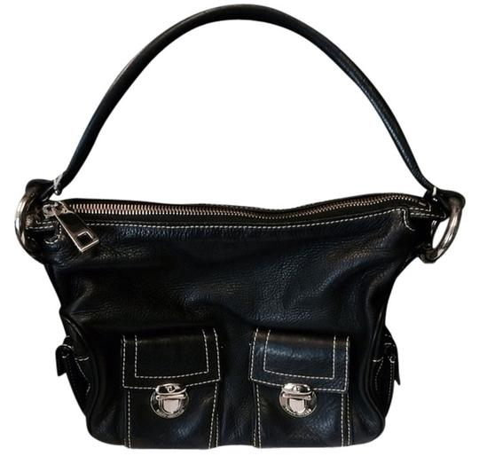 Preload https://item1.tradesy.com/images/marc-jacobs-black-leather-exterior-suede-interior-shoulder-bag-2264280-0-0.jpg?width=440&height=440