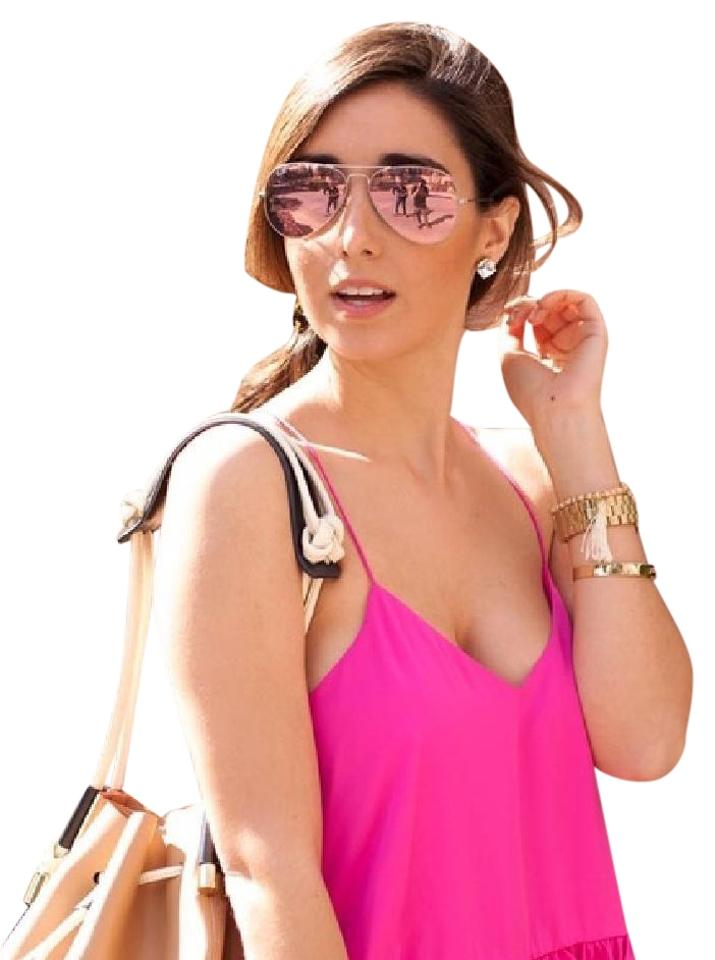 81a541c70a Ray-Ban Pink Polarized Cyclamen Flash Unisex Rb3025 112-1q Sunglasses