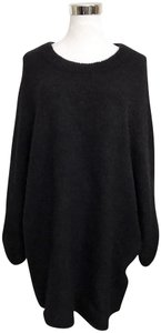 H&M Mohair Blend Mohair Blend Kimono Sleeves Oversized Batwing Sleeves Sweater