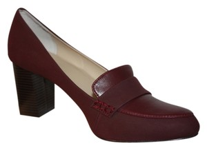 Calvin Klein Comfortable Burgundy Pumps