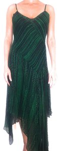 Diane von Furstenberg Vintage Beaded Embellished Silk Dress
