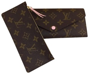 Louis Vuitton NWT Louis Vuitton Monogram/Rose Ballerine Josephine Wallet