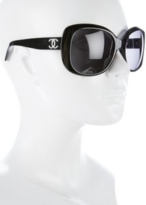8c08950c2ccf Chanel Chanel 5183 CC Logo Black Square Oversized Polarized Classic Quilted