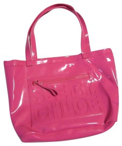 See by Chloé Fuchsia Large Tote Shoulder Bag