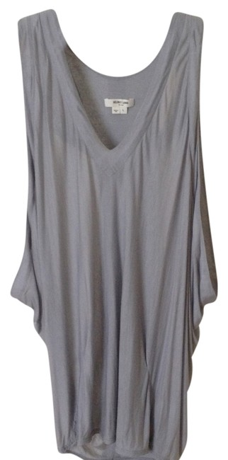 Helmut Lang Wrap In Top Grey free shipping