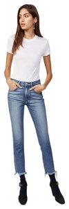 3X1 Frayed Raw High Waisted High Rise Cool Skinny Jeans