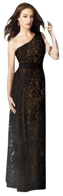 Item - Brown 2850 Long Night Out Dress Size 2 (XS)