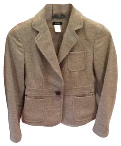 J. Crew Light Brown Wool Blazer