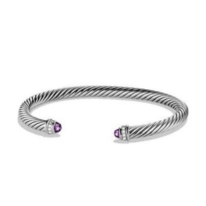 David Yurman David Yurman 5MM Amethyst Cable Bracelet