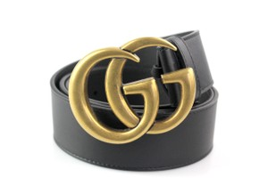 Gucci Double G Leather