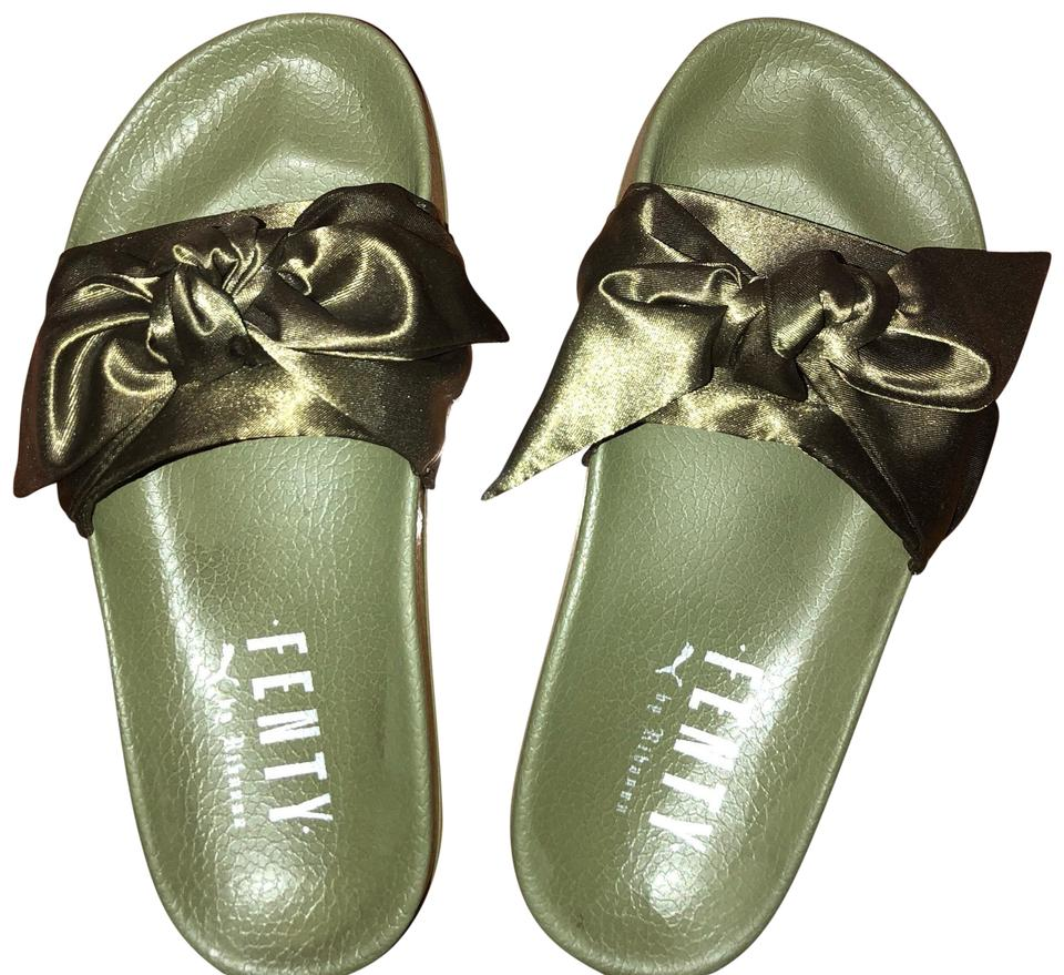 new style a0444 49846 Green/Olive Sandals
