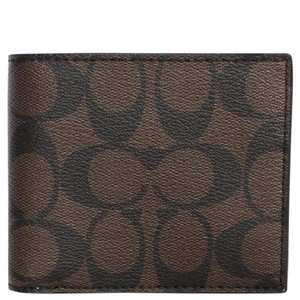 Coach $175 NWT COMPACT ID WALLET IN SIGNATURE F74993