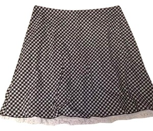 Tracy Evans Mini Skirt black/white