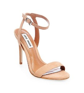 Steve Madden Suede Leather Ankle Strap Tan Sandals