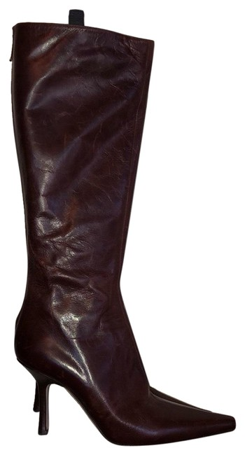 Item - Brown Glynn Leather Knee High Boots/Booties Size US 7.5 Regular (M, B)