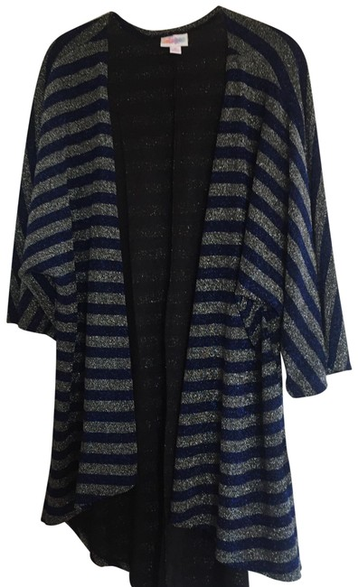 Item - Blue and Silver Elegant Lindsey Cardigan Size 10 (M)
