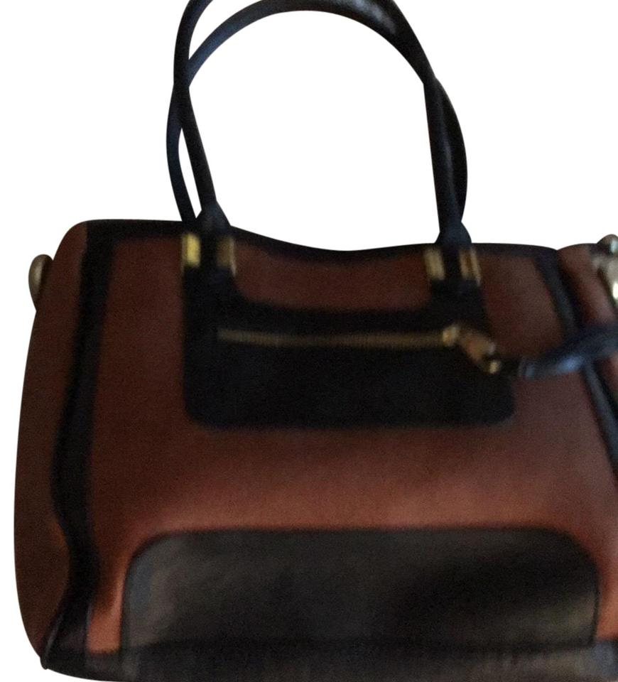 Steven By Steve Madden Satchel In Black Tan