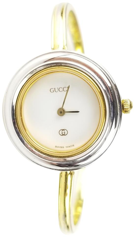 f903407fcaa Gucci Gold Round Face Watch - Tradesy
