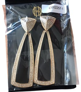 House of Harlow 1960 Mesa Door Knocker Earrings
