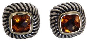 David Yurman David Yurman Citrine Albion Earrings