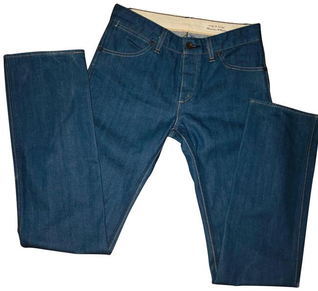Item - Blue Medium Wash Straight Leg Jeans Size 27 (4, S)