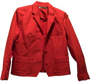 Balenciaga red/ orange Blazer