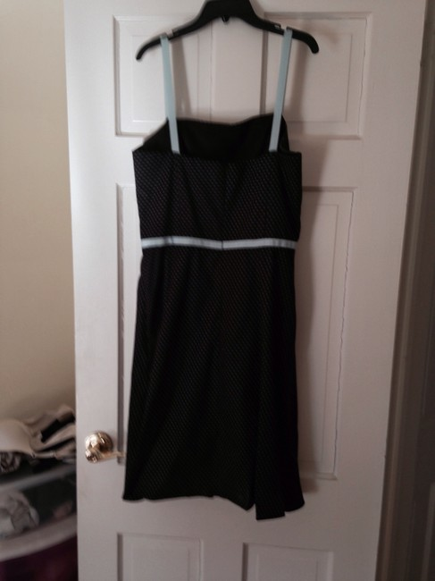 Essentials by ABS short dress Brown and blue Sundress on Tradesy