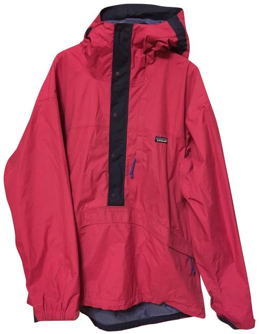 Item - Fuchsia Waterproof Half Zip Pullover Shell Coat Size 16 (XL, Plus 0x)