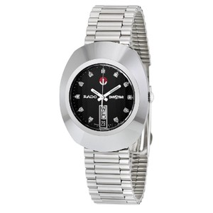 Rado Diastar Jubile Automatic Black Dial Men's Watch