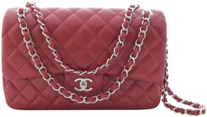 Chanel Handbag Cross Body Wallet Caviar Leather Shoulder Bag