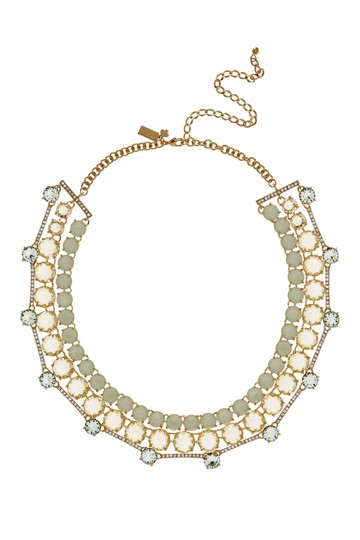 Preload https://img-static.tradesy.com/item/22648429/kate-spade-gold-and-mint-green-multi-new-plated-3-row-embellished-statement-necklace-0-4-540-540.jpg